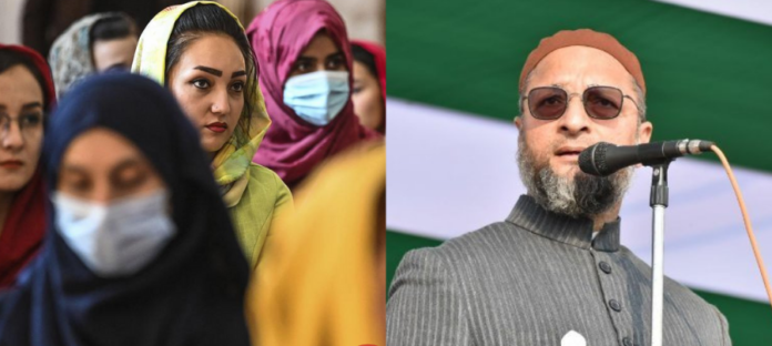 Owaisi mocks Centre's focus on atrocities against Afghan women, says 'Isn't it happening here?'
